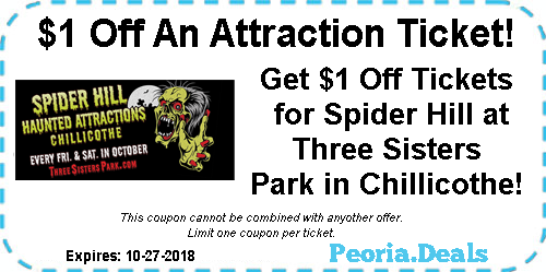 Peoria Coupons For The Week Of October 22 2018 Peoria Deals