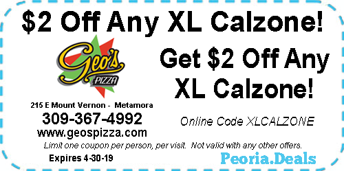 Peoria Coupons For The Week Of April 1 2019 Peoria Deals